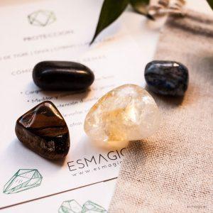 Talisman minerales, ojo de tigre, laspiaslázuli, ónix, citrino