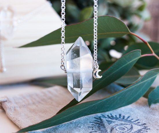 Colgante Esmagic Plata Cuarzo Tienda Online Crystal Shop