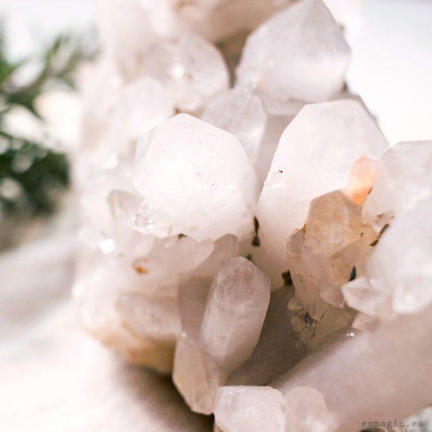 Drusa Cuarzo Ahumado de Bulgaria Minerales Esmagic