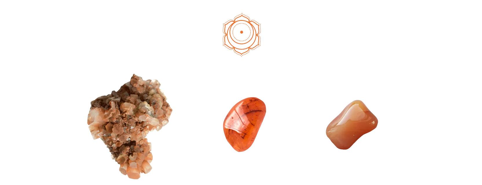 Piedras chakra umbilical
