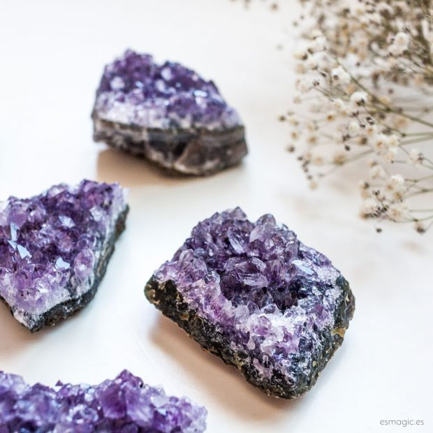 Drusa Amatista Esmagic Crystal Shop
