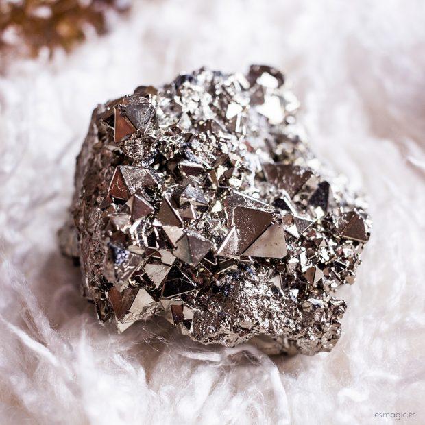 Mineral bruto Pirita de Perú