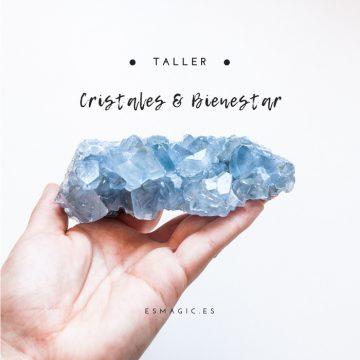 Taller presencial CristaloterapiaCristales y Bienestar