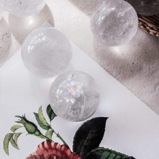 esfera de cuarzo tienda minerales esmagic