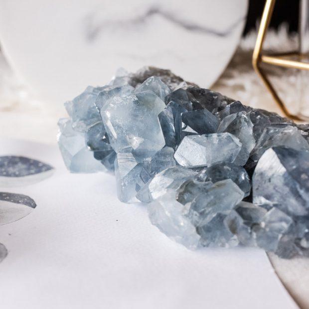 Drusa Celestina tienda minerales, joyería y bienestar Esmagic
