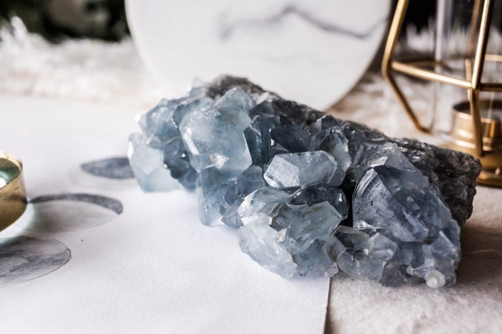 propiedades energéticas de la celestina tienda minerales Esmagic